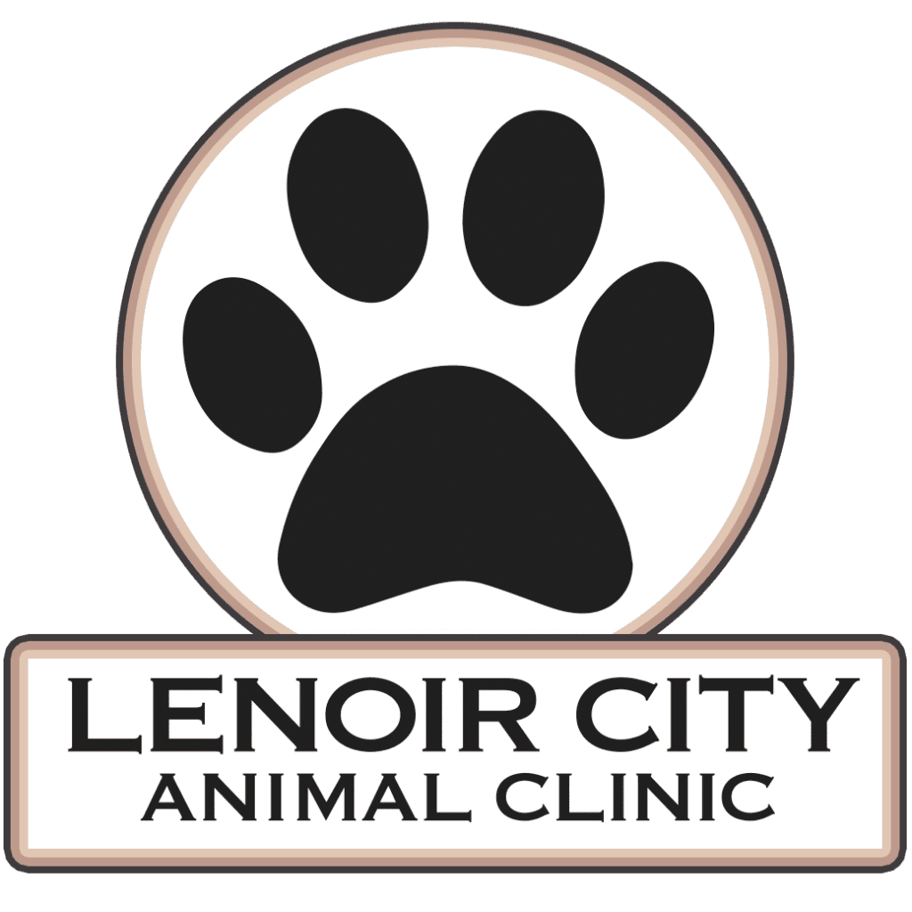 lenoir city animal clinic logo